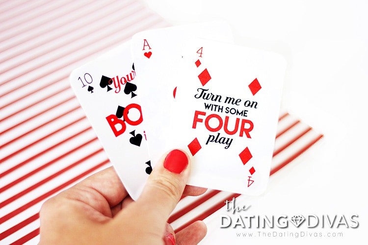Sexy Card Game Love Notes