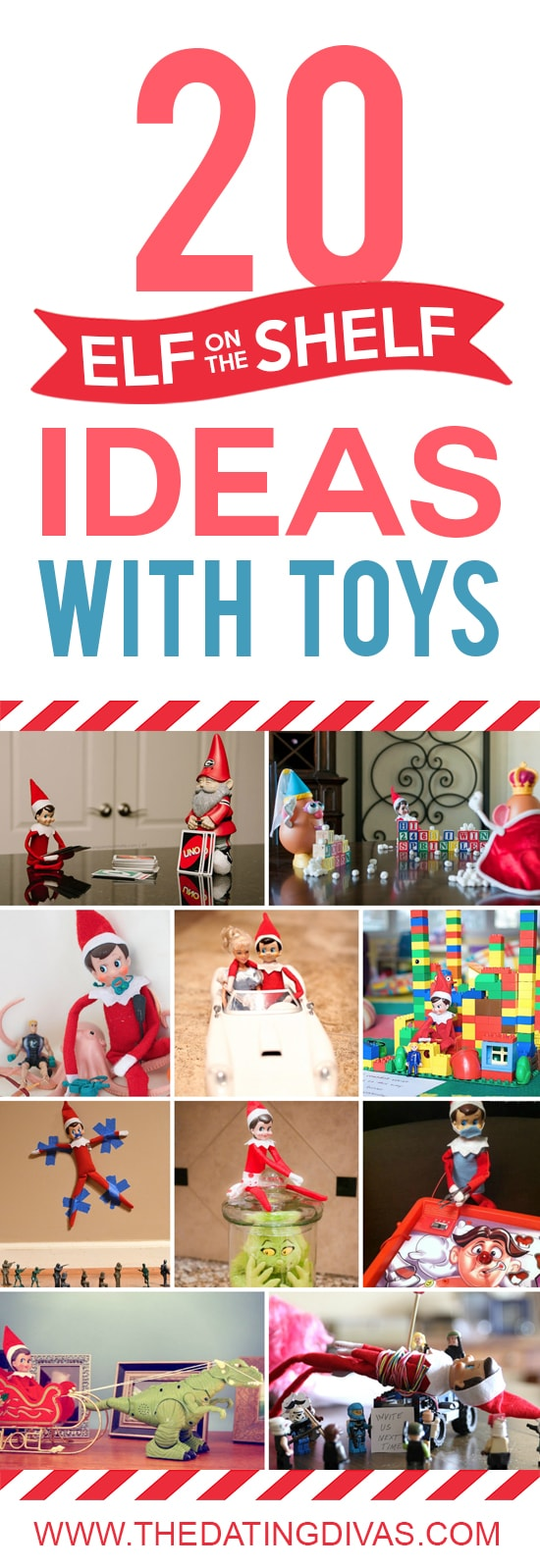 Elf on the Shelf ideas that you will actually want to use.