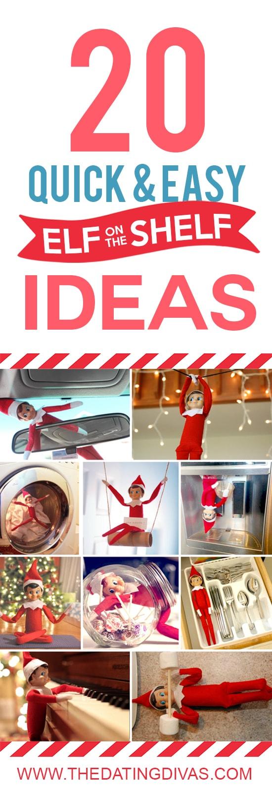 Christmas elf ideas.