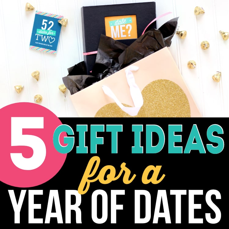 One year of dating gift ideas