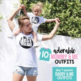 Mommy And Me Adorable Outfits