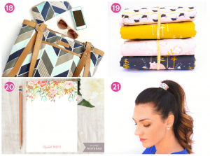 Gift ideas for the crafty or artistic woman on your list!