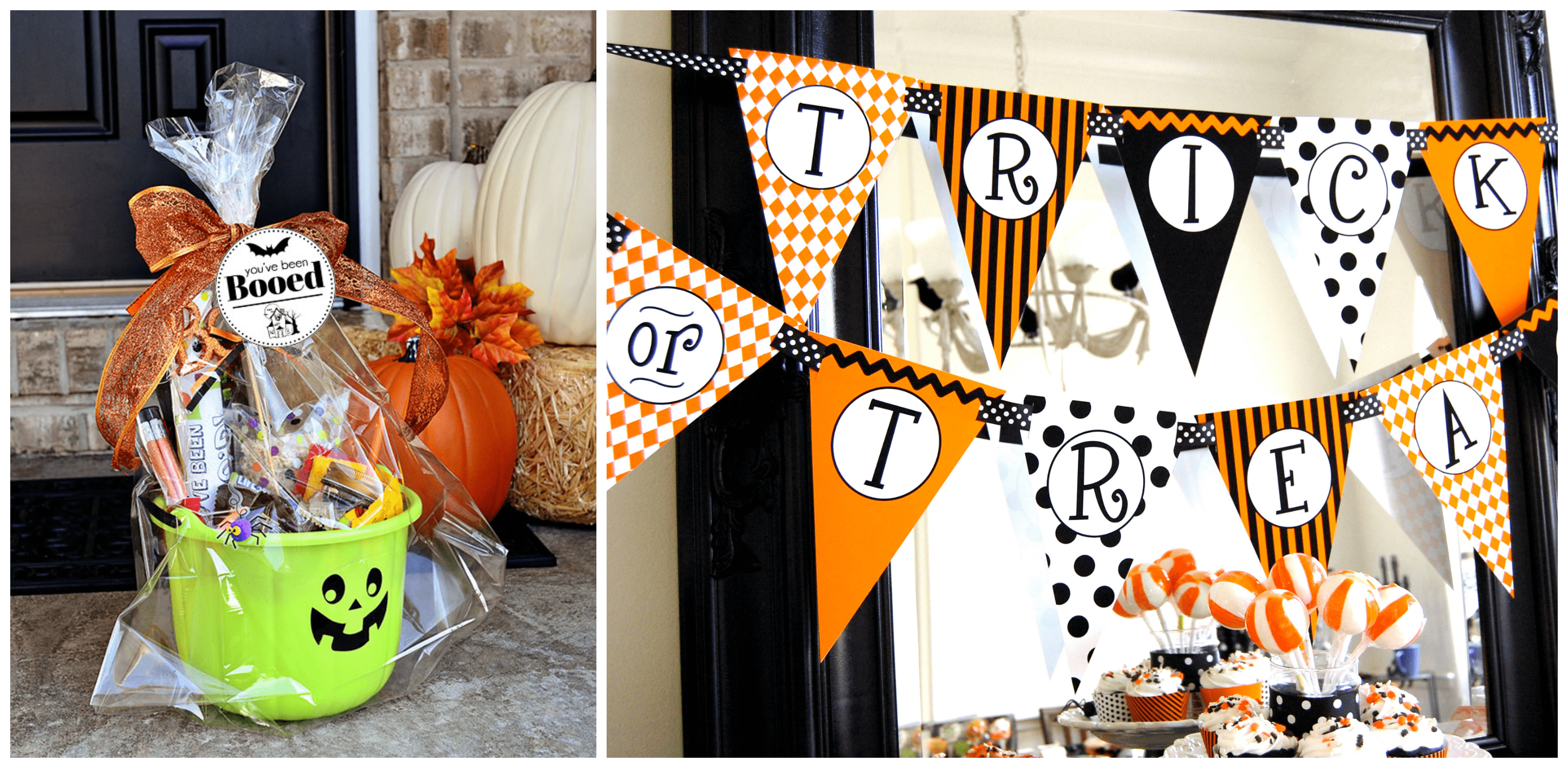 You've Been Booed Printables and Trick or Treat Banner