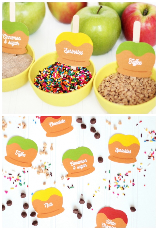 Make your own caramel apples