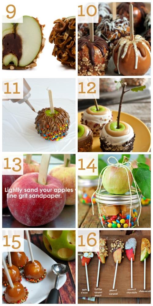 DIY Caramel Apple Recipe Ideas