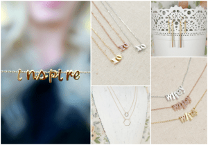 "The Dating Divas' favorite ""inspire"" necklace."