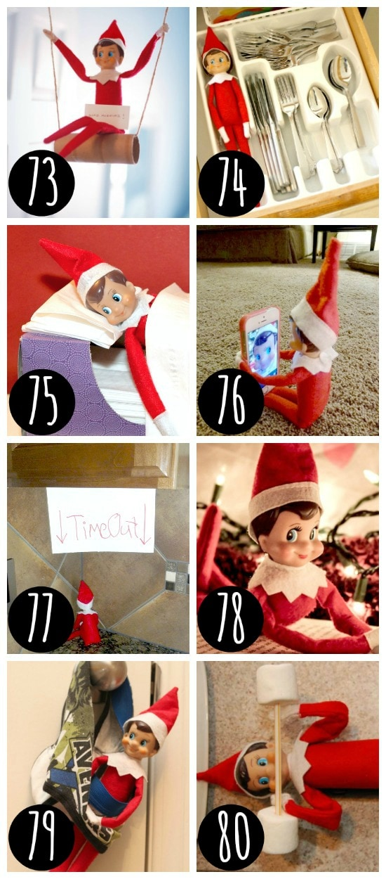 Silly places to hide your elf.