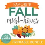 Favorite Fall Must-Haves Bundle