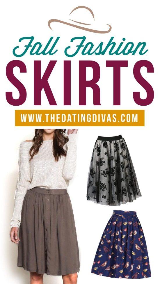 Fall Fashion Skirts