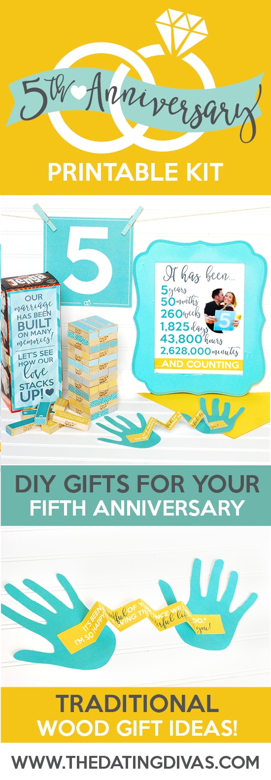 Fifth Year Anniversary Gift Ideas