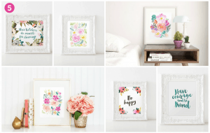 Gorgeous wall art and prints.