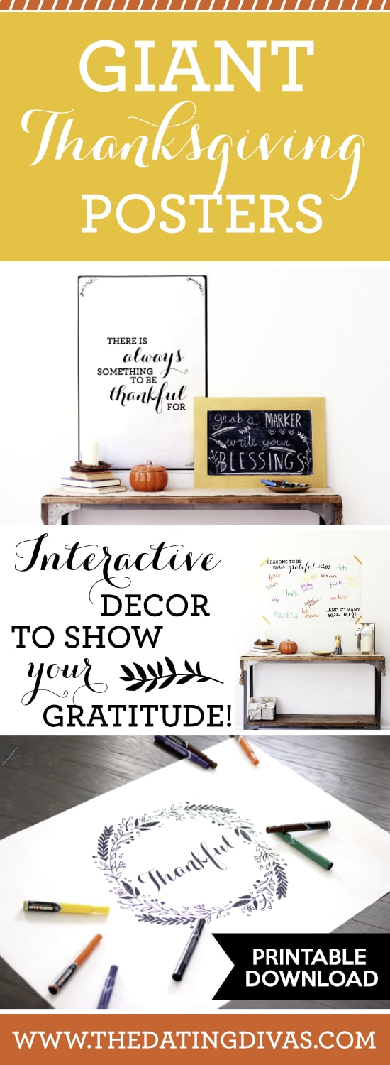 Gratitude Thanksgiving Signs & Posters
