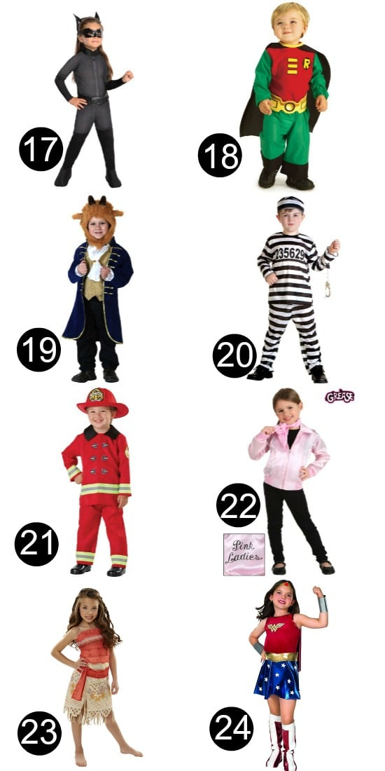 Halloween Toddler Costumes