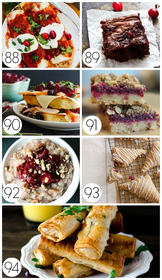 Leftover Thanksgiving Cranberries Recipes