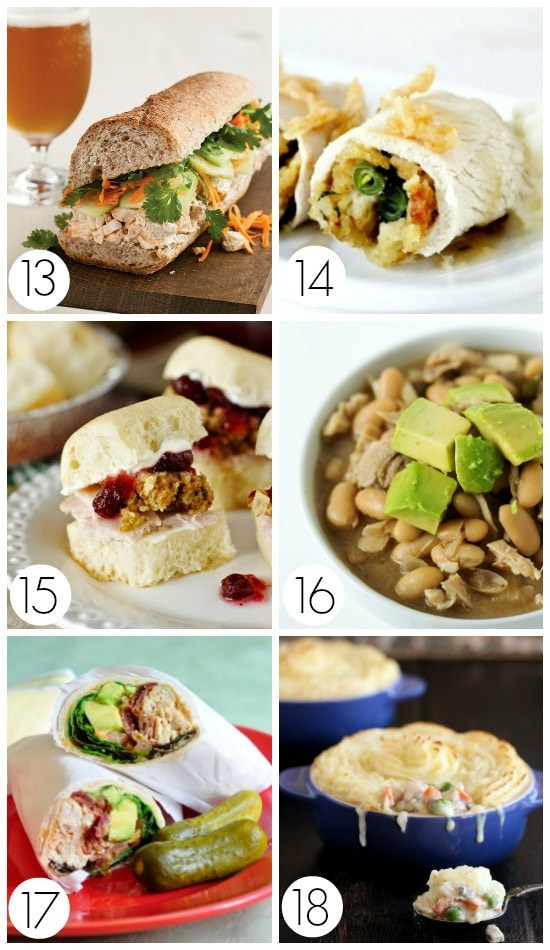 Leftover Thanksgiving Turkey Recipes