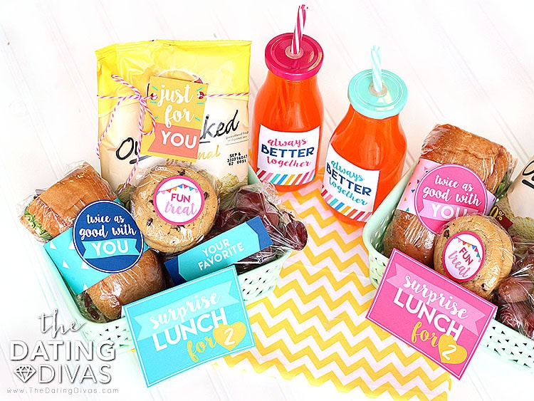 Lunch Box Surprise Printables