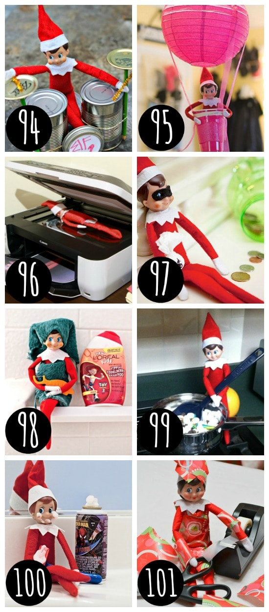 Elf on the Shelf Ideas for the entire family.