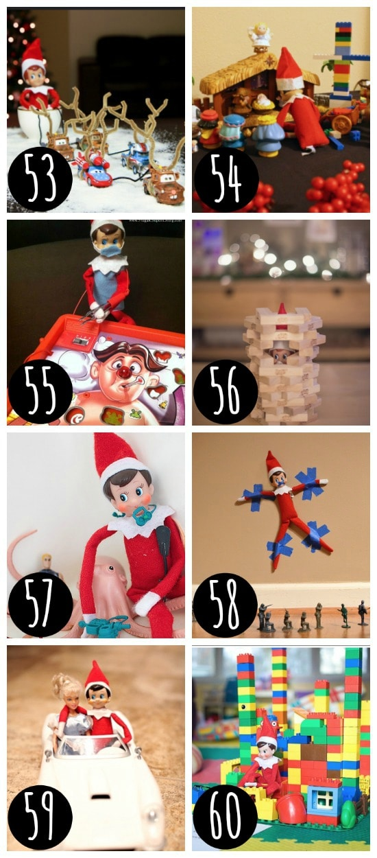 Perfect Elf on the Shelf places to hide.
