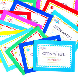 Open When Letters and Ideas
