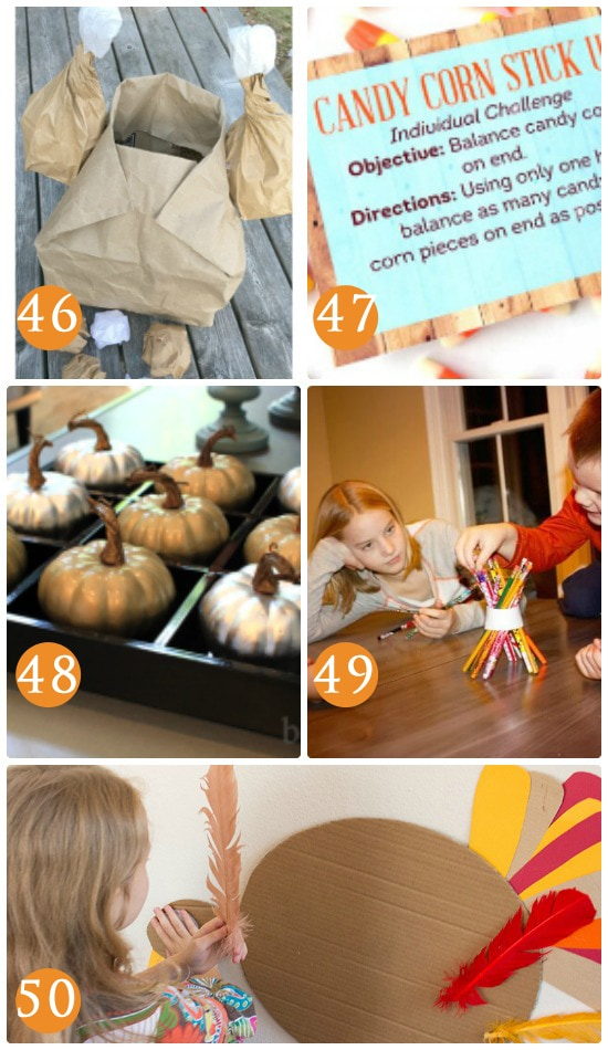 Kids Games for Thanksgiving