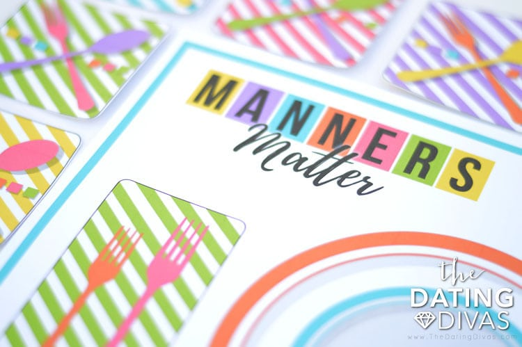 printable manners family night