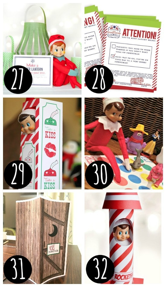Elf on the Shelf hiding places
