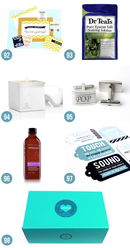 Romantic Gifts for Your Man