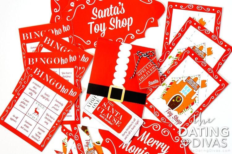The Santa Clause Movie Marathon Printables