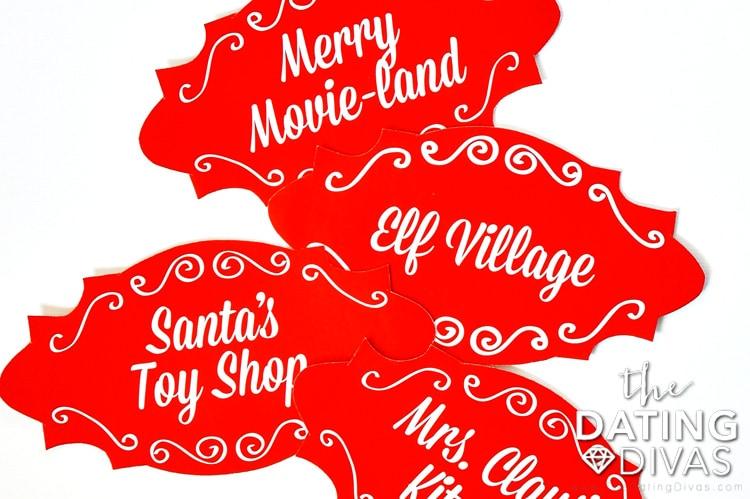 The Santa Clause Movie Marathon Signs