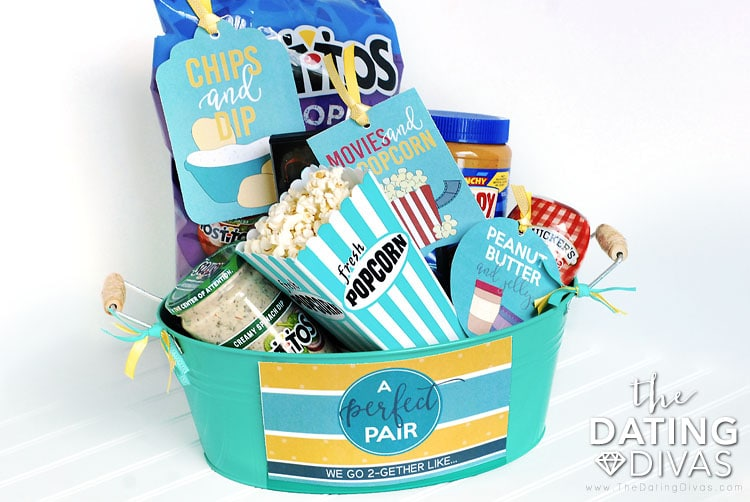 Second Anniversary Gift Basket Idea