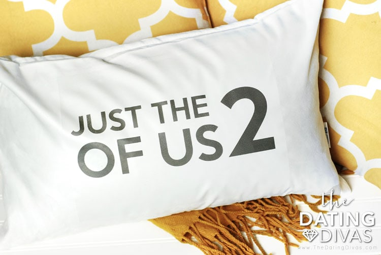 Second Anniversary Pillow Gift Idea