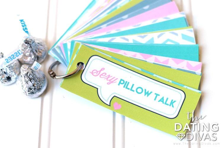 Sexy Pillow Talk Cards