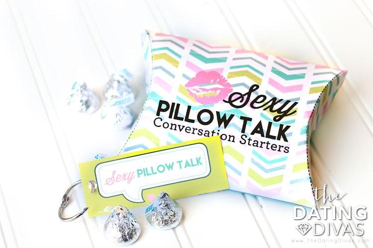 Sexy Pillow Talk Conversation Starters Box