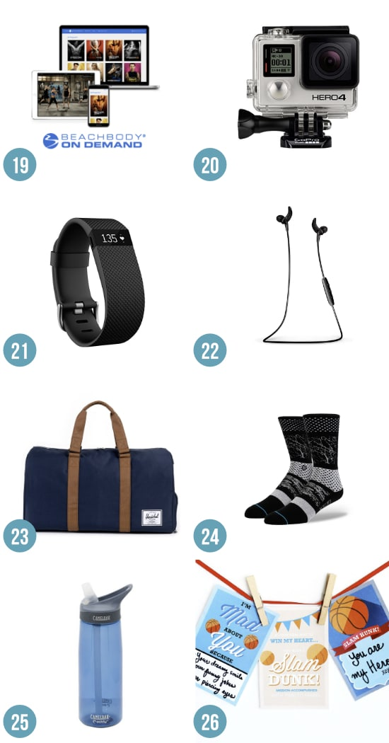 Gifts for the Sporty Guy