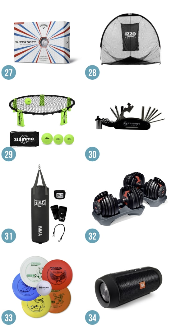 Gift Ideas for the Sporty Guy