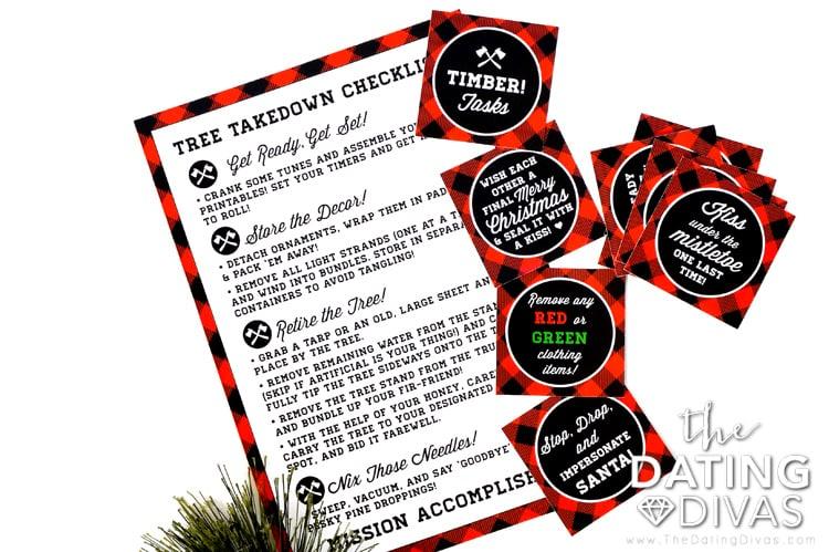 Taking Down the Christmas Tree Checklist