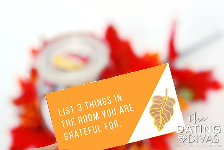 Thanksgiving Conversation Starters and Prompt Cards