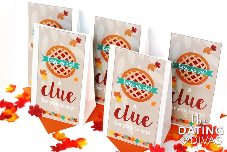 Thanksgiving Scavenger Hunt Bags