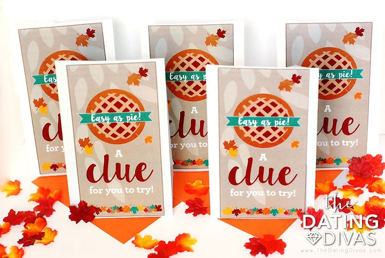 Thanksgiving Scavenger Hunt Clue Bags