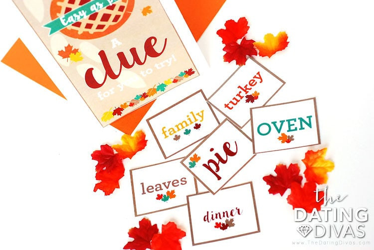 Thanksgiving Scavenger Hunt Ideas