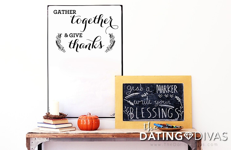 Thanksgiving Signs: Gather Together