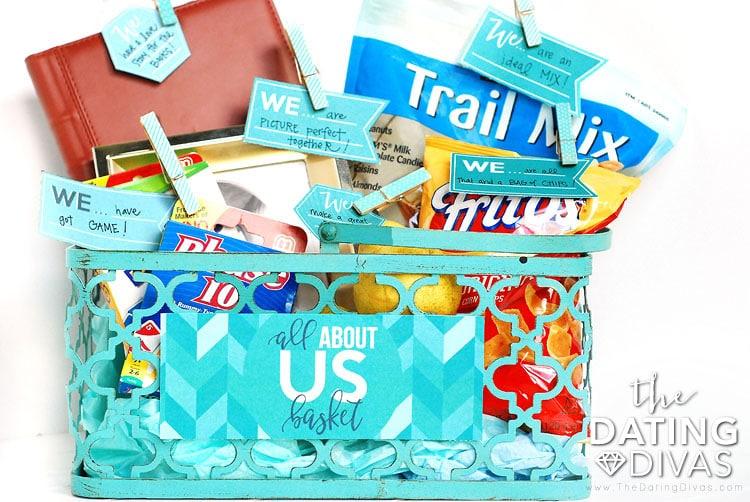 Third Anniversary Gift Basket
