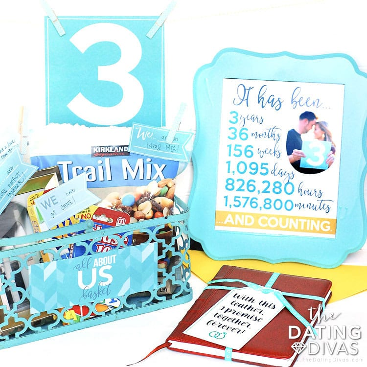 Third Anniversary Gift Ideas