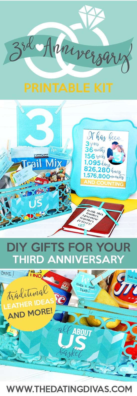 Third Anniversary Gift