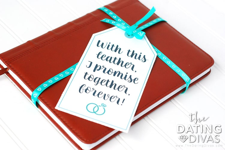 Third Anniversary Couple's Journal Gift