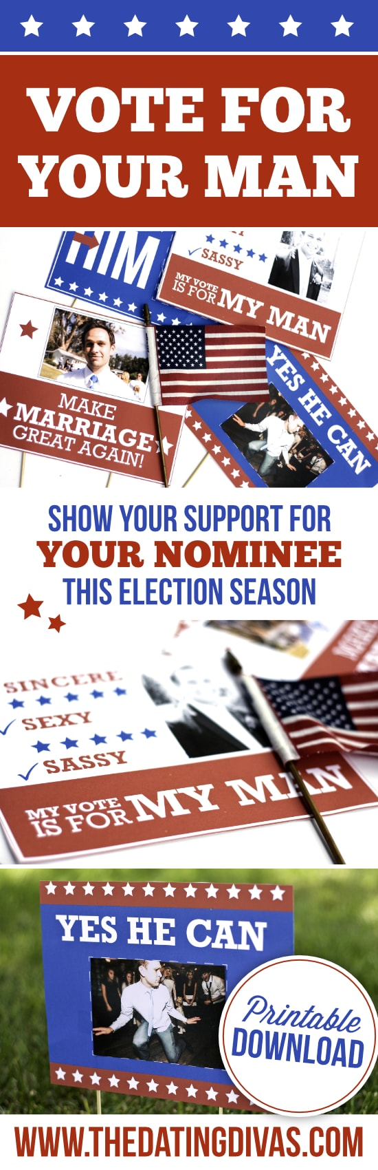 Show your support for your nominee this election season!