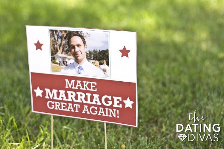 Make Marriage Great Again!