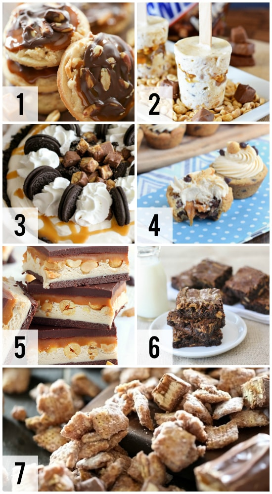 Snickers Inspired Recipes