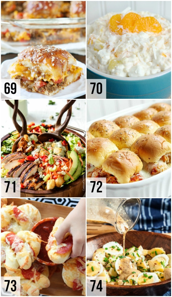 Potluck and Side Dishes