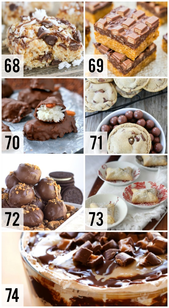 Recipes with Candy Bars